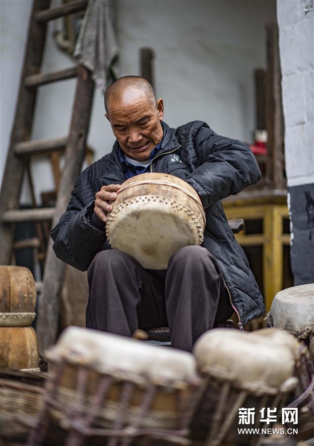 (文化)(5)吴开学与他的顶塘鼓