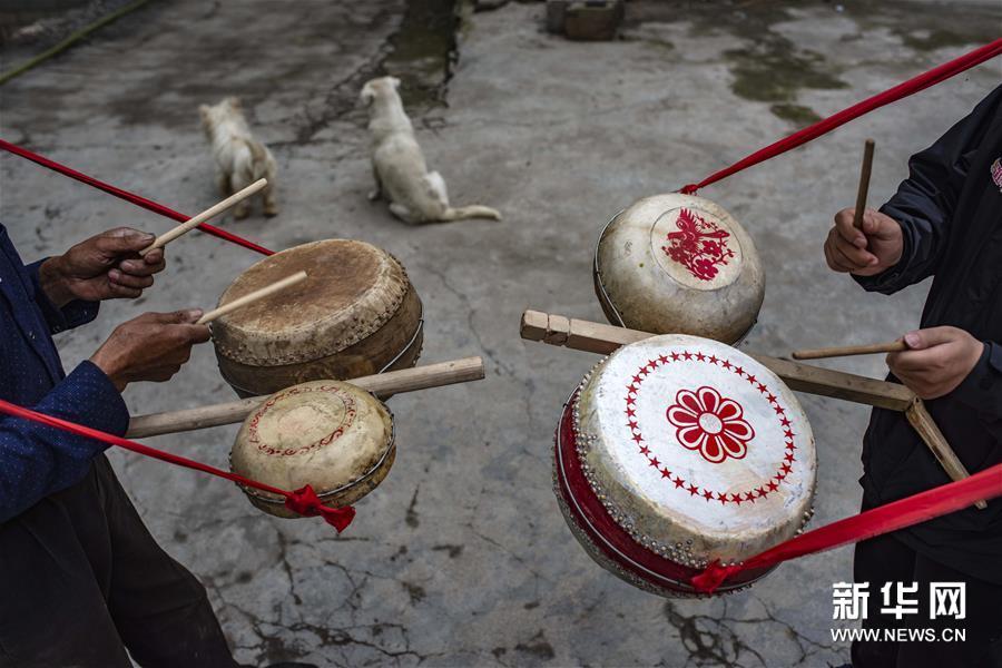 (文化)(7)吴开学与他的顶塘鼓