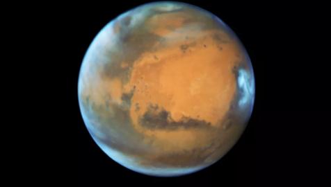 7月31日火星将达到与地球最近的位置 15年来最近