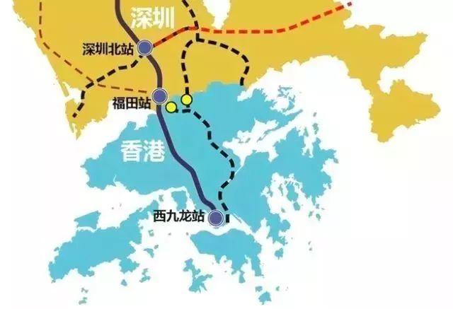 广深港高铁香港段拟9月通车 西九龙站已准备就绪