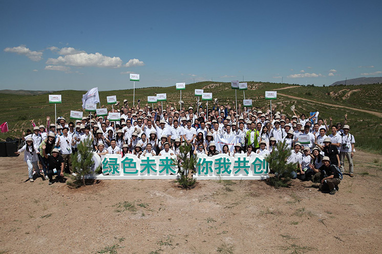 Honda在华企业开展2016年度植树造林活动