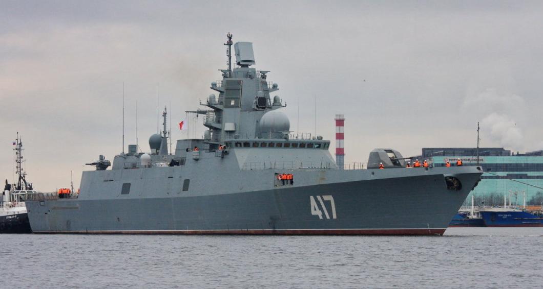 拖延三年,俄海军首艘22350型护卫舰终于交付