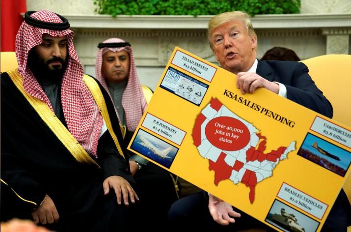 """特朗普寻求建立""""阿拉伯版北约""""对抗伊朗"""