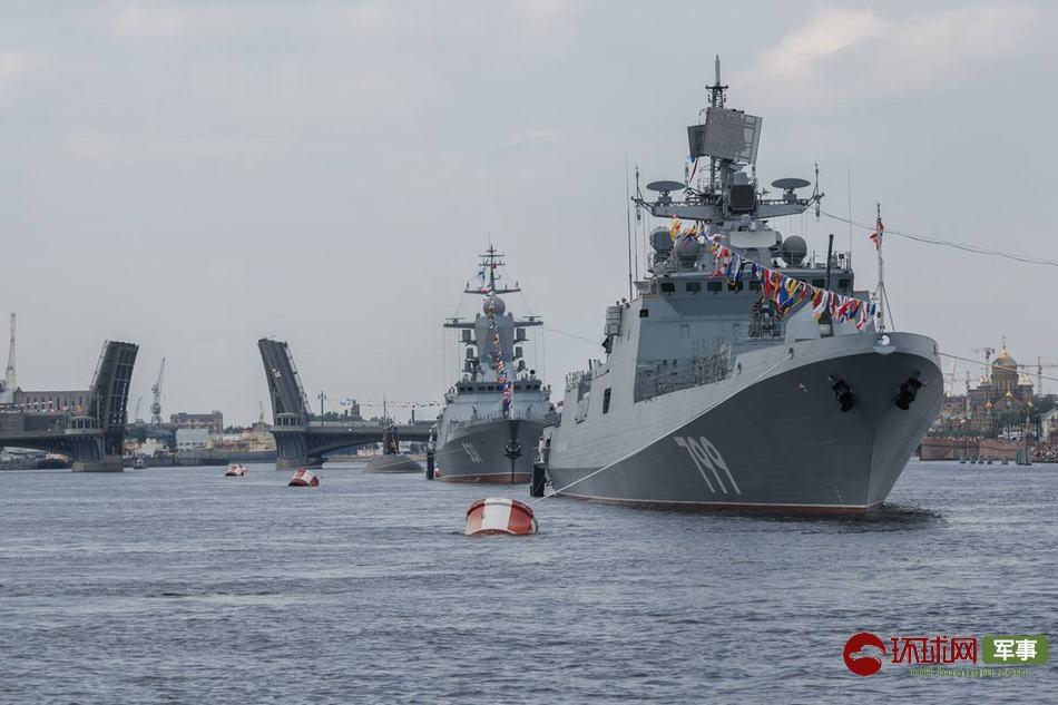 海上大阅兵!普京将在圣彼得堡检阅40多艘军舰