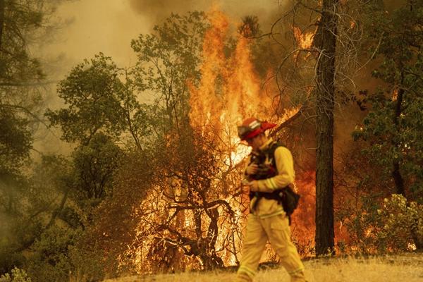 加州山火延烧致5死17失踪 特朗普宣布进入紧急状态