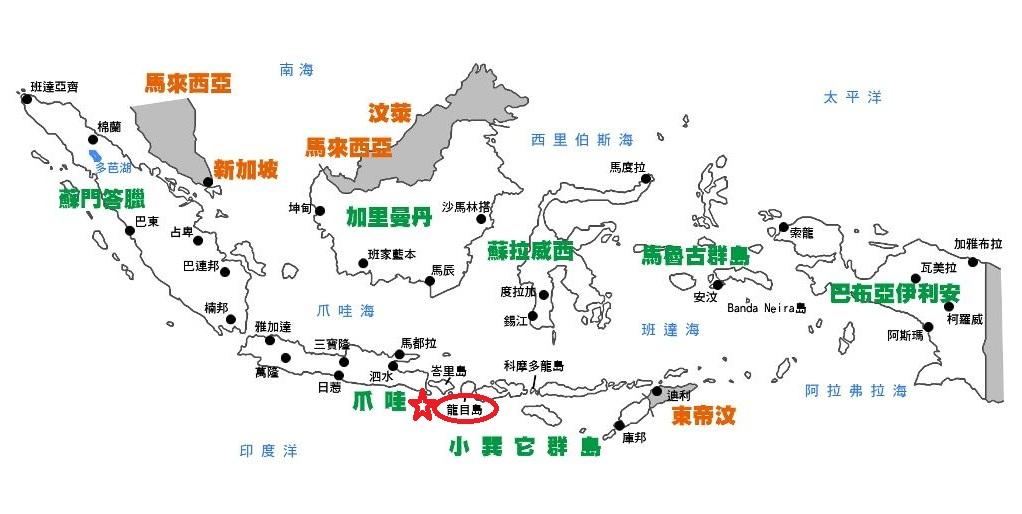 印尼龙目岛发生6.4级地震 10人死亡40人受伤