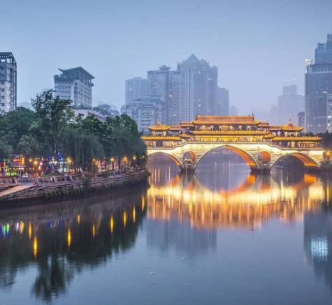 """锦江绿道产业规划 """"夜游锦江"""" 成为成都城市橱窗"""