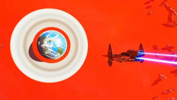 《无人深空》精美照片选 火红星系让人惊叹
