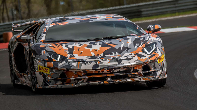 兰博基尼Aventador SVJ刷新纽北赛道量产车圈速纪录