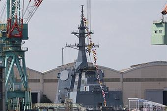 日最新27DDG驱逐舰今日下水 专家称针对中国