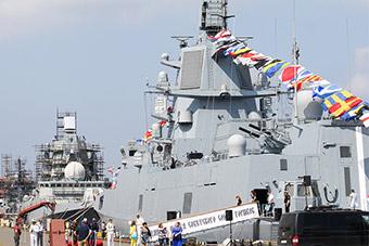 苏联解体以来俄海军自研最先进军舰终于服役