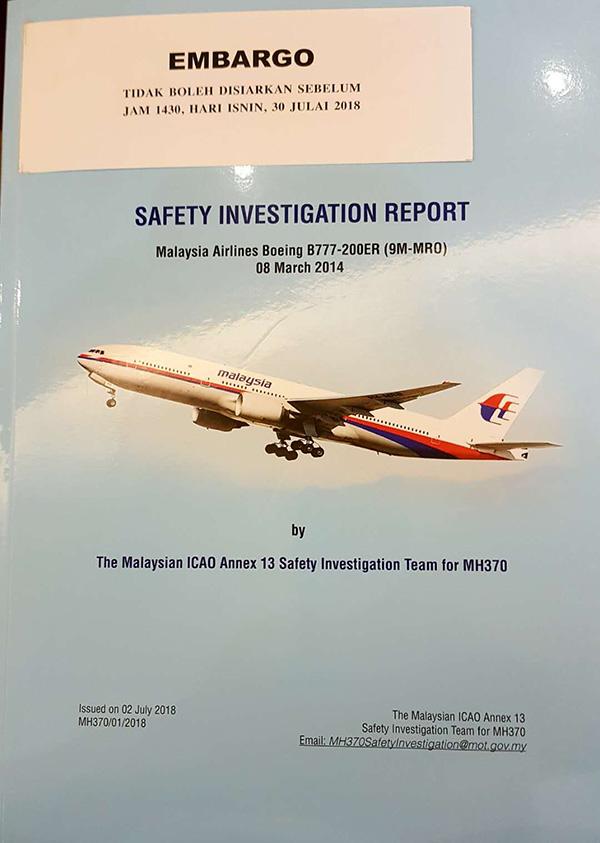 MH370新报告将公布,失联者家属对报告存疑望确切答案