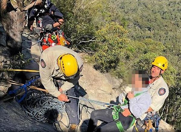 澳女子登山约会时坠崖 对象以上班为由离开