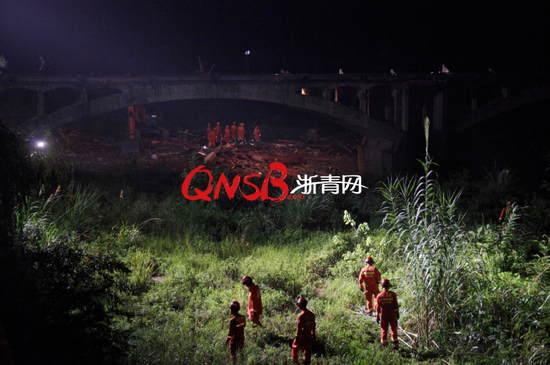 桐庐廊桥垮塌死伤者多为广场舞村民 桥上躲雨遇难