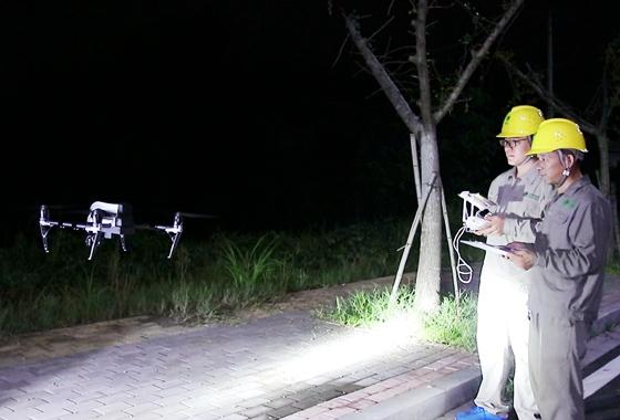 国网萍乡供电公司:率先应用无人机搭载红外装置开展夜巡