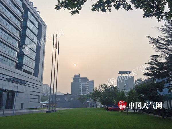 """本周北京""""桑拿""""模式全开 体感温度可达37℃上下"""