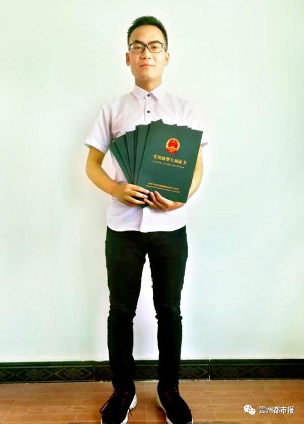 毕节一中高二学生独获6项发明专利,获清华北大自主招生资格