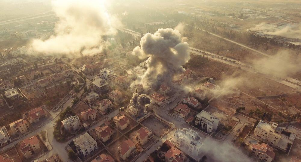 叙政府军消灭IS位于德拉省的最大据点