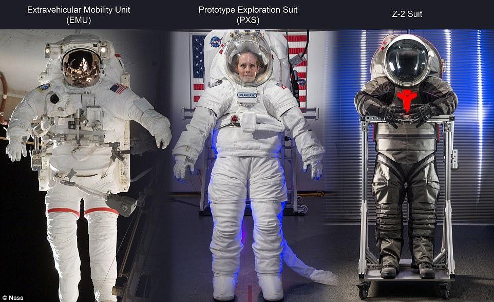 因无新宇航服 美国重返月球计划恐推迟