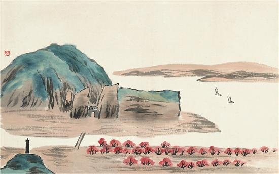 齐白石《借山图》的艺术特色和独特性