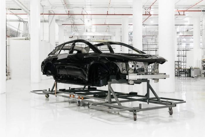 法拉第未来采用新装配技术 首次完成FF91白车身