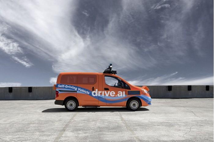 Drive.ai自动驾驶车德克萨斯州上路 车身呈亮橙色