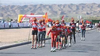 教练队员一同转项 中国赛艇协会跨项组转战越野滑雪