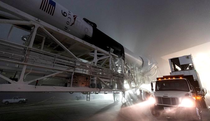 SpaceX时隔3天再次发射猎鹰9号 一次携带十颗卫星