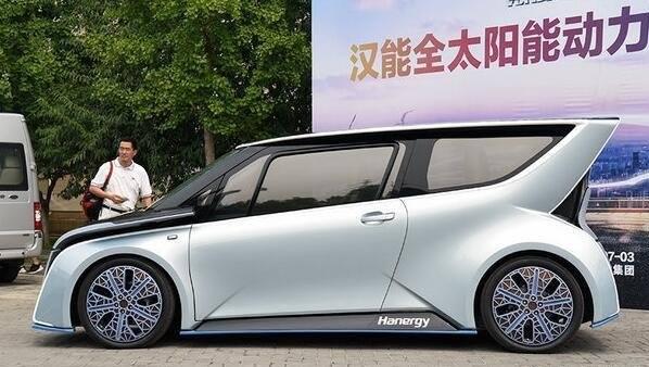 汉能与法国博洛雷集团合作打造太阳能电动汽车