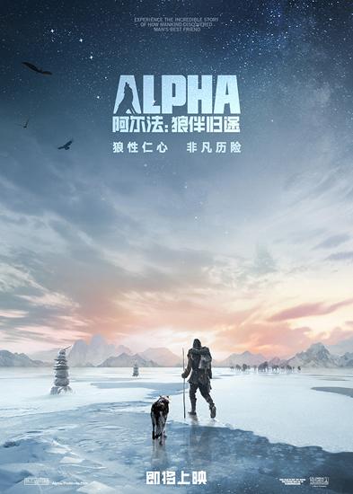 《阿尔法:狼伴归途》海报预告双发确认引进