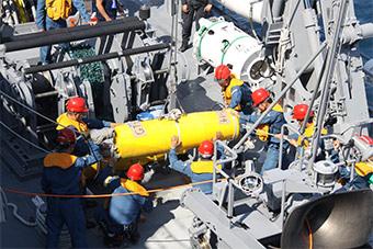 日本纠集美印海军举行联合反水雷演习