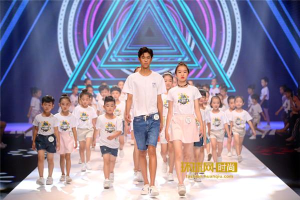 环球网时尚频道直击:新丝路中国国际少儿模特大赛 新秀Tiger Qian夺冠