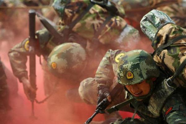这,就是中国军人