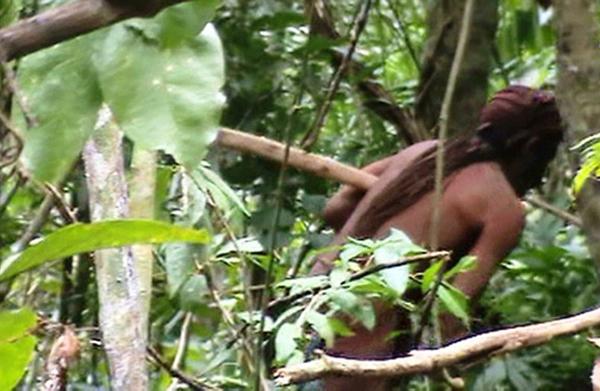 揭秘亚马逊一部落最后一名成员22年独立生活