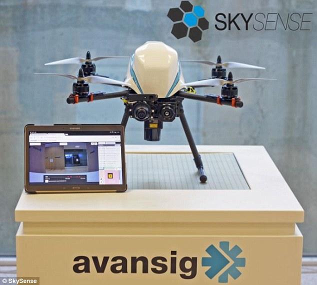 全球首款室内无人机全自动巡逻系统 比固定摄像头省钱?