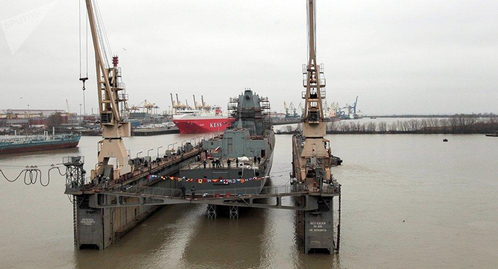美媒:俄新护卫舰优于美濒海舰 尽管还在建造中