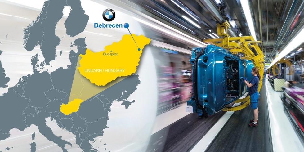 宝马宣布在匈牙利建新厂 欲年产15万辆电动汽车
