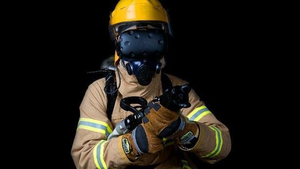 VR应用《Flaim Tranier》助消防员追踪训练者