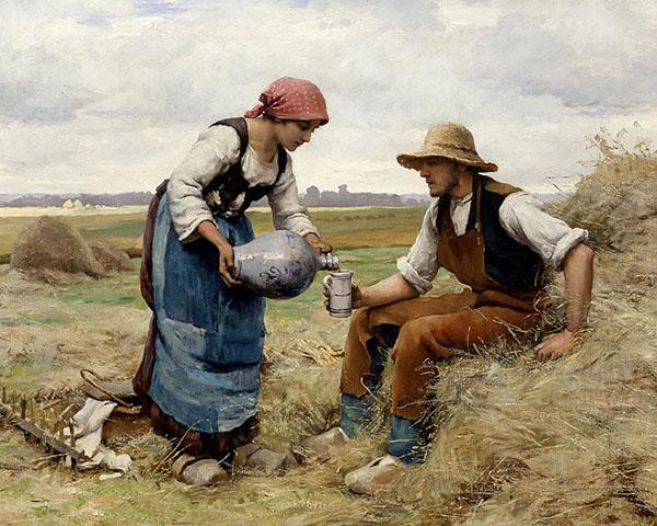 法国巴比松画派裘利恩·杜普荷油画作品欣赏