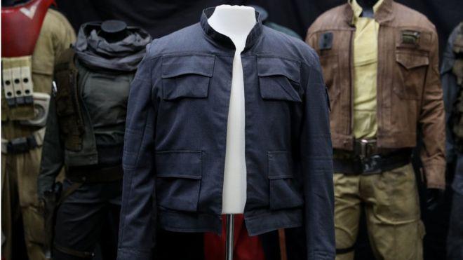 《星球大战》索罗夹克9月拍卖 最高估价100万英镑