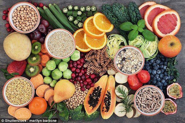 英研究:食用高纤维食物有助减轻肠胃压力