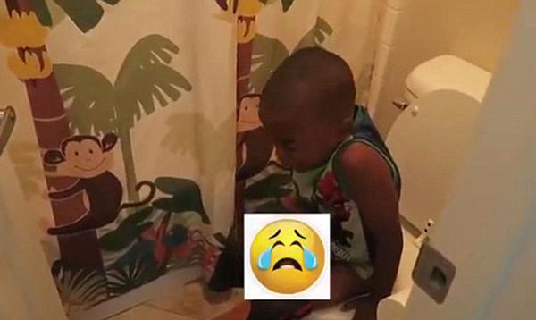 美父亲给孩子喂含泻药冰淇淋拍视频账号被停封