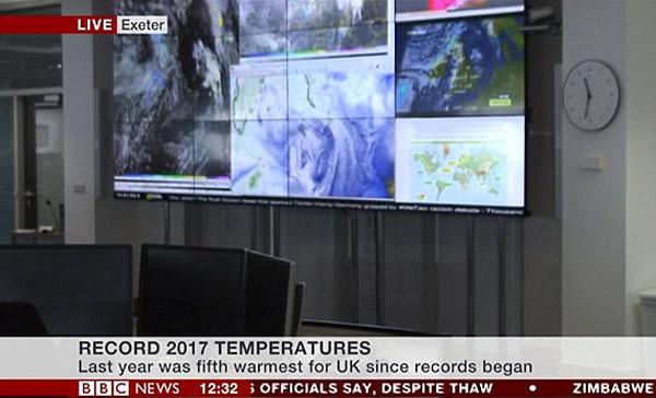 心惊!英气候学家电视访谈直播期间骤然晕倒