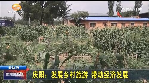 庆阳:发展乡村旅游 带动经济发展