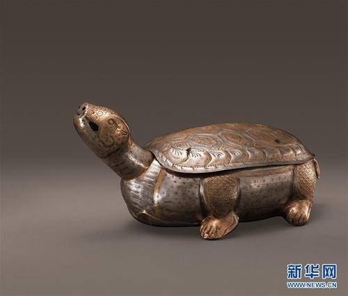 """陕西学者研究认为:法门寺""""小金龟""""原是香炉"""
