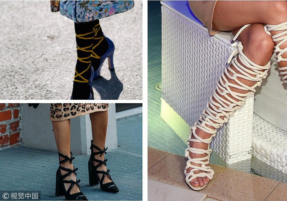 """时髦人都是穿上""""粽子鞋"""" 满满仪式感"""
