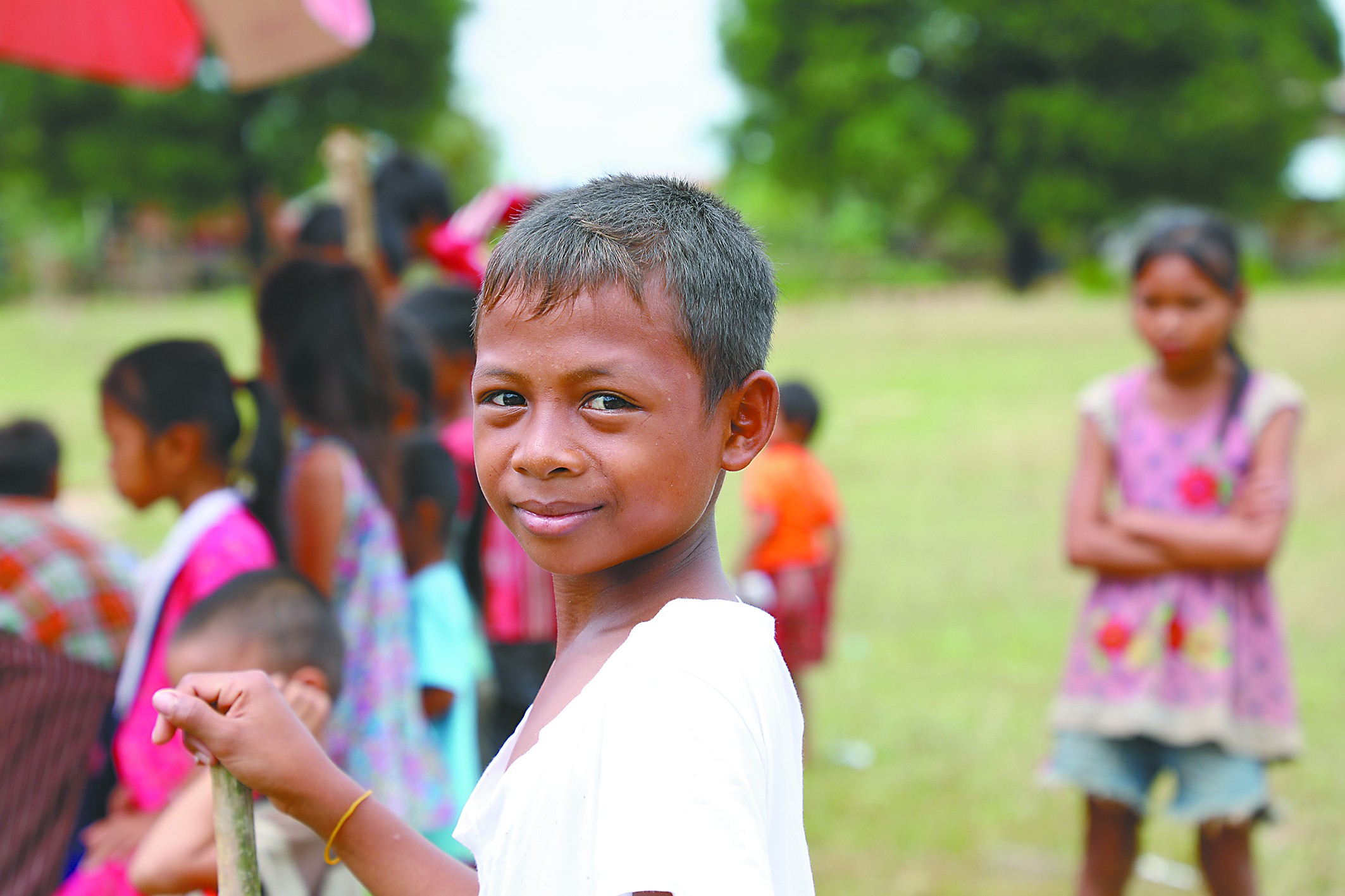 老挝,微笑是震撼人心的力量