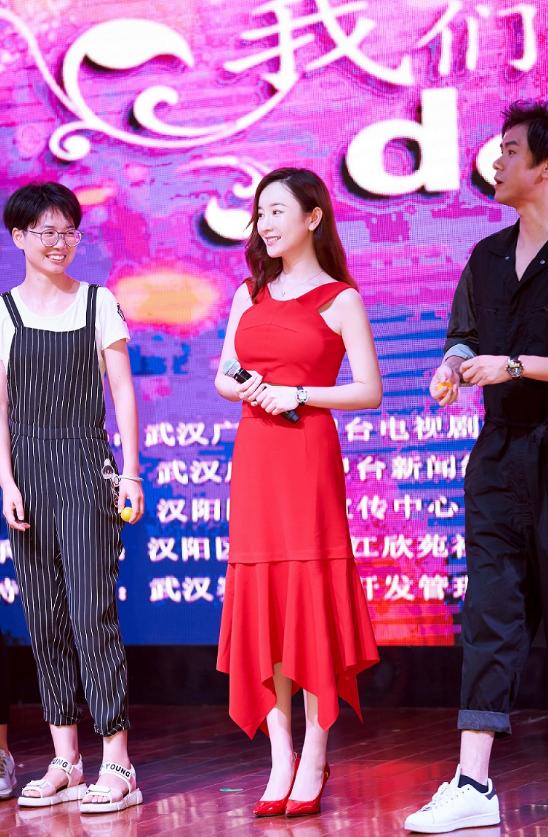 张檬亮相《我们的爱》发布会 现场爆料幕后花絮