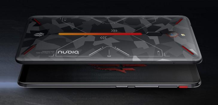 努比亚将发布限量版迷彩配色红魔手机