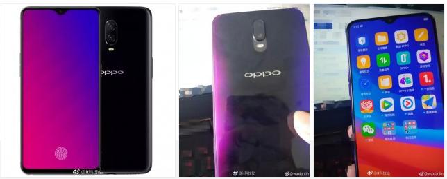 OPPO R17疑似真机照曝光 采用后置垂直双摄